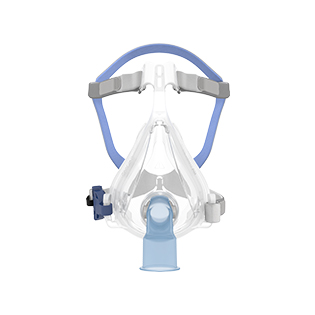 Quattro-Air-non-vented-full-face-mask-front-view-resmed