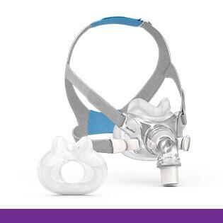 ResMed-AirFit-F30-CPAP-helmask-minimalistisk