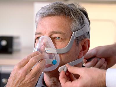 Helmask-CPAP-masksömnapné-patienter-ResMed